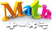 Математика на английском и русском языках.